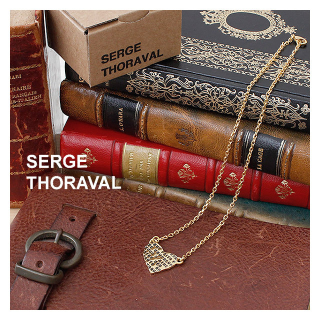 serge thoraval ゴールドネックレス 人々は